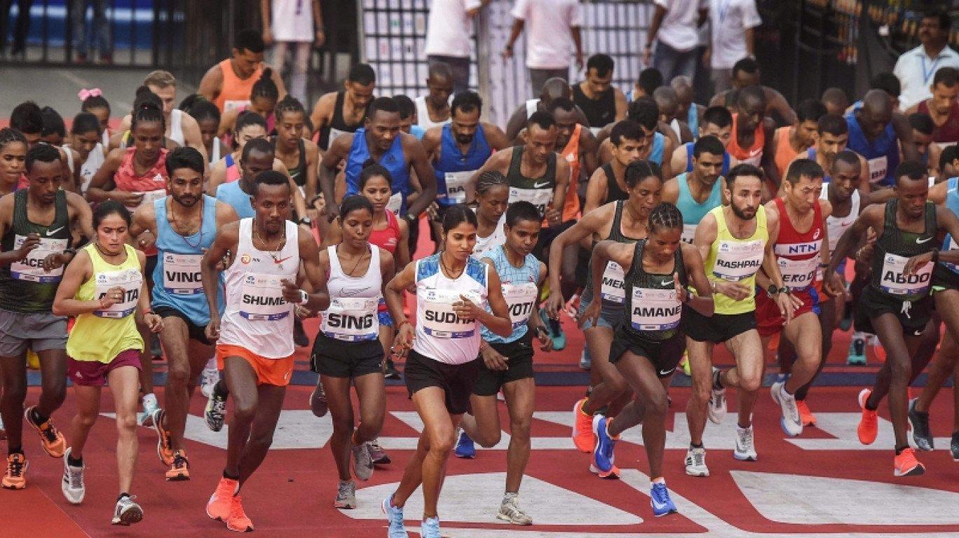 जब मुंबई में दौड़े नक्सल प्रभावित इलाकों के युवा, लोग देखते रह गए