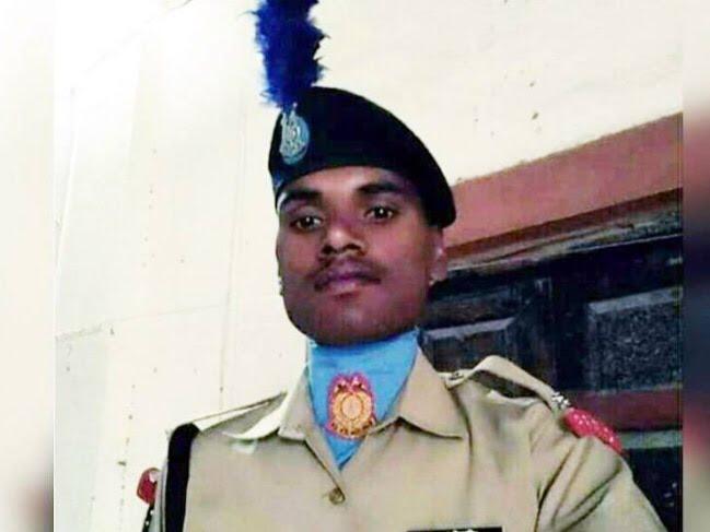 pulwama martyr ashwini madhyapradesh