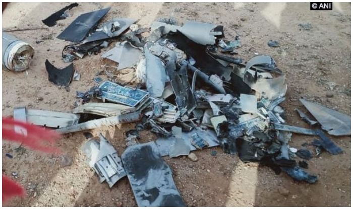 IAF air strike pakistani drone destroyed