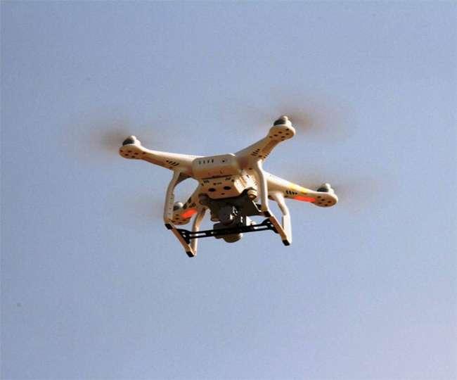 Pakistani drone, Rajasthan border, Pakistani drone attempting to enter Indian territory, Pakistani drone crosses Rajasthan border, BSF,Pakistan, surgical strike2,air, strike pulwama terror attack पाकिस्तानी ड्रोन, ड्रोन, राजस्थान, Pakistan, BSF, Hindumalkot Border, UAV, Shriganganagar