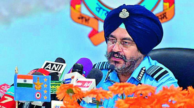 air strike, iaf air strike, balakot, pakistan, air chief b s dhanoa