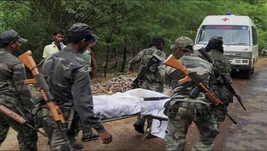 दंतेवाड़ा में CRPF जवानों पर नक्सली हमला, 1 जवान शहीद और 5 जख्मी