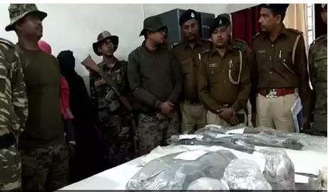 naxalite arrested, jharkhand, chatara, hazaribagh