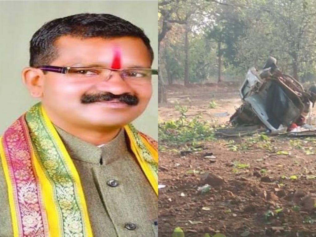 Loksabha Election 2019: दंतेवाड़ा में बड़ा नक्सली हमला, बीजेपी विधायक की मौत, 4 जवान शहीद
