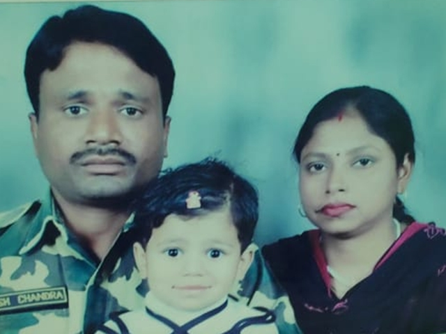 crpf martyr harish chandra pal, bhopal martyr, naxal attack, chhattisgarh naxal attack, dhamtari naxal attack, sirf sach, sirfsach.in