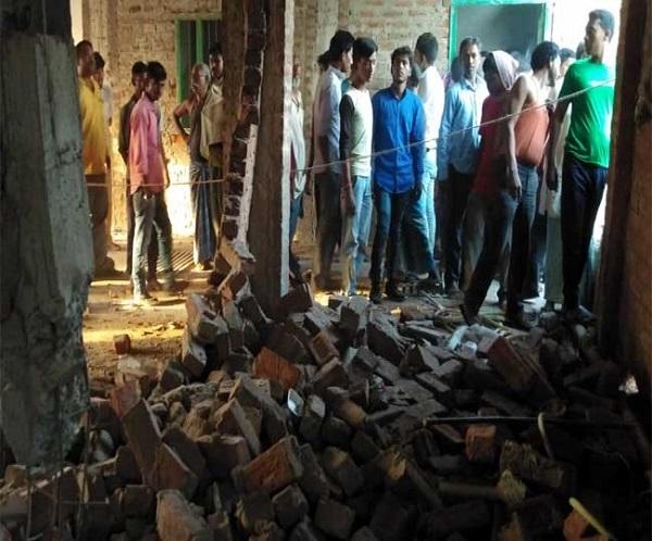 झारखंड: पलामू में नक्सलियों ने भाजपा कार्यालय को बम से उड़ाया