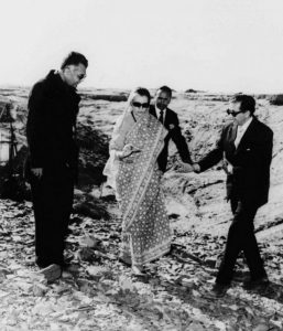 smilling budha, first pokhran test, indias first nuclear test, success story of pokhran test, Indira Gandhi and pokhran test, atomic test, sirf sach, sirfsach.in