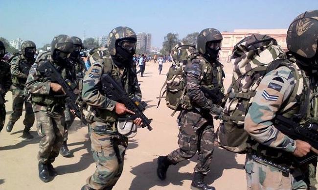 Indian airforce, garud commando, garud commando force, garud commando training, terrorist attack, sirf sach, sirfsach.in
