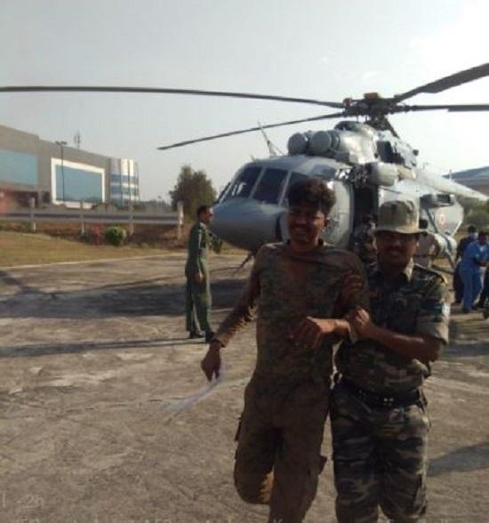 झारखंड में बड़ा नक्सली हमला, IED ब्लास्ट में 26 जवान जख्मी