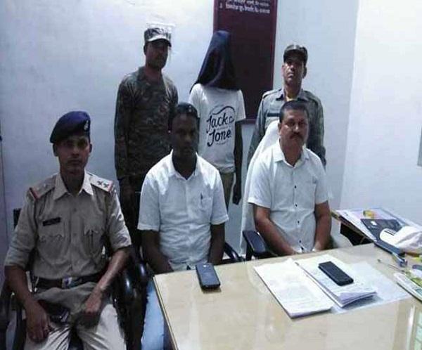 naxal arrested, paschimi-singhbhoom, naxali arrested, PLFI member arrested, girl trafficking, singhbhum girl sold in delhi, jharkhand, West Singhbhum Jharkhand, sirf sach, sirfsach.in