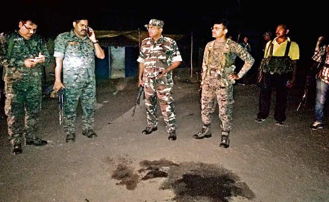 jharkhand Saraikela Naxal Attack 5 policemen shot dead, naxal attack, Jharkhand police, sirf sach, sirfsach.in
