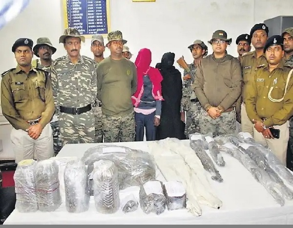 naxal,naxal arrested,jharkhand naxal, chatara police, sirf sach, sirfsach.in
