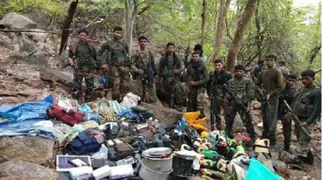 naxal, naxal encounter, Joint Police Team, Naxal camp, Rajnandgaon, encounter between police and naxali, many Naxalites injured, Chhattisgarh, sirf sach, sirfsach.in