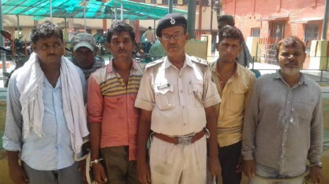 naxal arrested, aurangabad, bihar, four naxali arrested in aurangabad bihar, Aurangabad Bihar, sirf sach, sirfsach.in