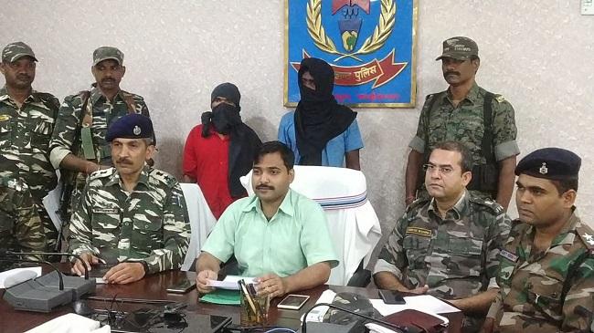 naxal, naxals arrested, jharkhand naxal, chaibasa, chaibasa police, naxal leader anmol da, sirf sach, sirfsach.in