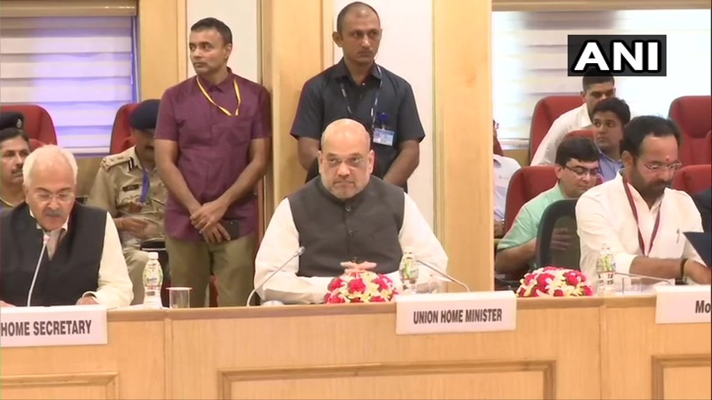 Home Minister Amit Shah, Naxal States CM, UP, MP, Jharkhand, Chhattisgarh, bengal, CM Mamata Banerjee