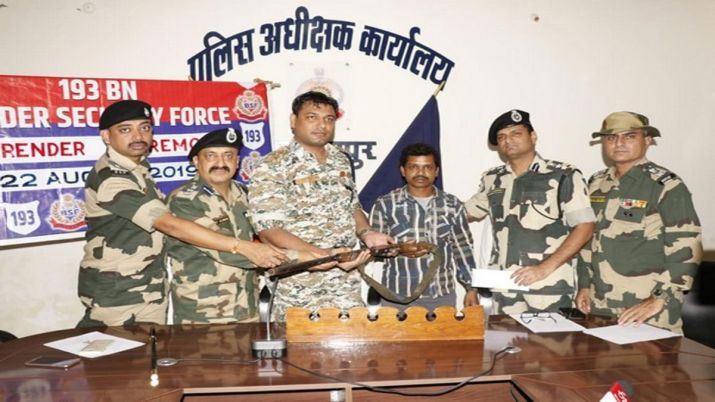 naxal, surrender, chhattisgarh, bastar