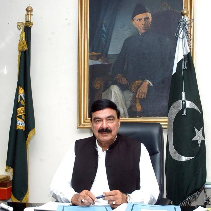 Sheikh Rasheed, Pakistan Railways Minister, Sheikh Rasheed Ahmad attacked in London, Pakistan Peoples Party, pelted Sheikh Rasheed with eggs, Pakistan