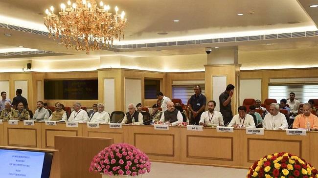 गृहमंत्री अमित शाह ने राज्यों के सीएम के साथ की बैठक, नक्सलवाद को खत्म करने के लिए सुरक्षा, विकास समेत कई मुद्दों पर बनी रणनीति