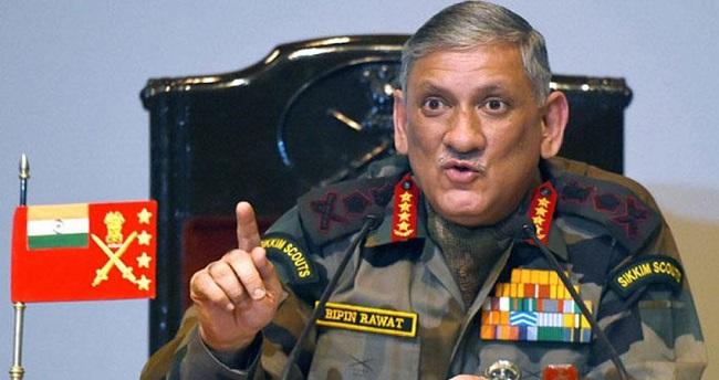 LoC पर आए तो मिलेगा जवाब, सेनाध्यक्ष विपिन रावत ने पाकिस्तान को चेताया