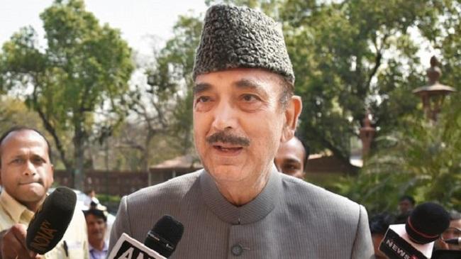 Article 370: कांग्रेस नेता गुलाम नबी आज़ाद को श्रीनगर हवाई अड्डे पर रोका गया