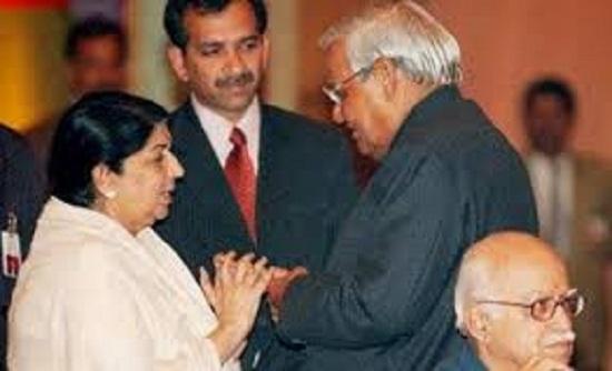 अटल बिहारी वाजपेयी: लता मंगेशकर ने अपनी आवाज में दी पूर्व प्रधानमंत्री को श्रद्धांजलि
