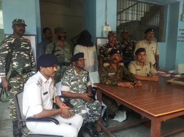 naxal, poorvi champaran, east champaran, Naxalite area commander arrested in Patahi, Bihar, sirf sach, sirfsach.in