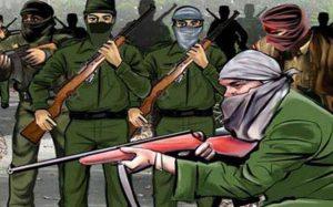 लोहरदगा: लेवी नहीं मिला तो व्यापारी के नाम खत छोड़ गए नक्सली, गोलियां बरसा शहर में फैलाई दहशत