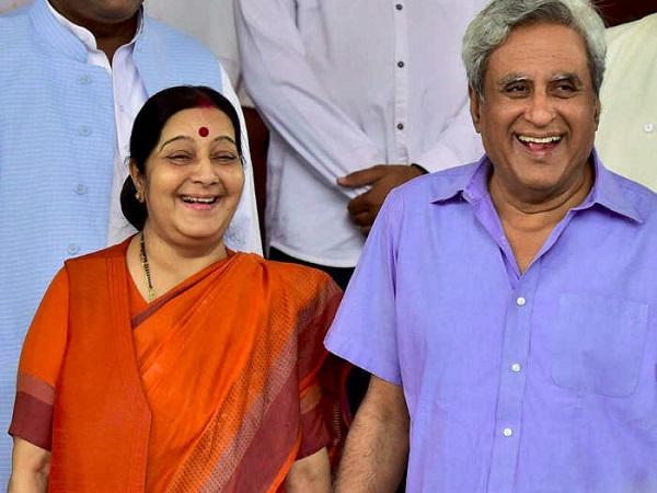 सुषमा स्वराज: शादी के खिलाफ थे घर वाले, फिर भी किया प्रेम विवाह