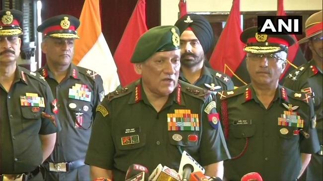 सेना प्रमुख का खुलासा, फिर सक्रिय हुए बालाकोट में आतंकियों के शिविर