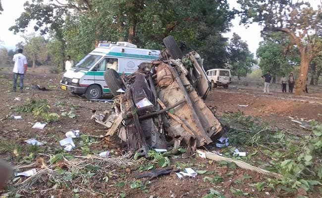 छत्तीसगढ़: कांकेर में नक्सली हमला, आईईडी ब्लास्ट से 3 लोगों की मौत