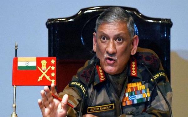 सेनाध्यक्ष जनरल बिपिन रावत ने कहा, PoK को लेकर इंडियन आर्मी पूरी तरह तैयार