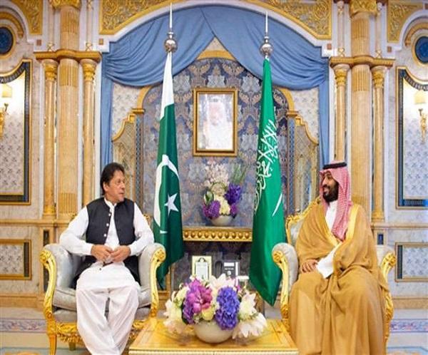 भारत के खिलाफ समर्थन जुटाने की पाकिस्तान की एक और कोशिश, इमरान खान ने की सऊदी प्रिंस से मुलाकात