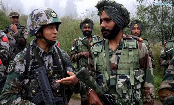 लद्दाख बॉर्डर पर भारत और चीन के सैनिकों के बीच हुई भिडंत, बाद में बातचीत से सुलह