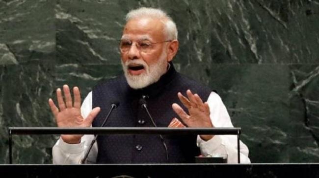 UNGA में पाकिस्तान का नाम लिए बिना ही पीएम मोदी ने कश्मीर पर दुनिया को दिया स्पष्ट संदेश
