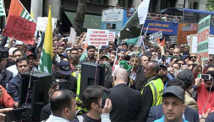 लंदन में पाक प्रायोजित 'फ्री कश्मीर' प्रदर्शन पर रोक, दिवाली के दिन था प्रदर्शन