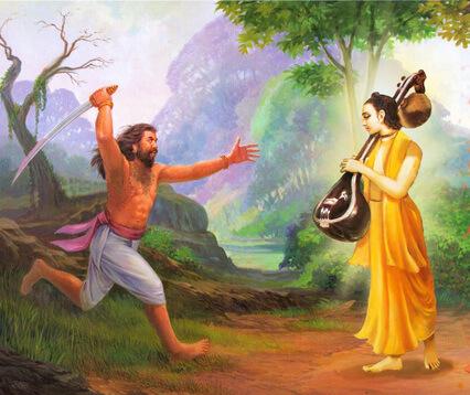 नारद मुनि की प्रेरणा से खूंखार डाकू बना महर्षि वाल्मीकि, प्रभु श्रीराम से हुई भेंट