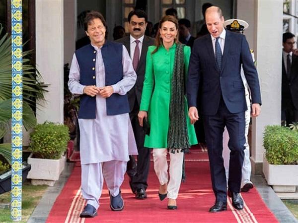 प्रिंस विलियम के सामने फिर कश्मीर का राग अलाप सकते हैं इमरान खान
