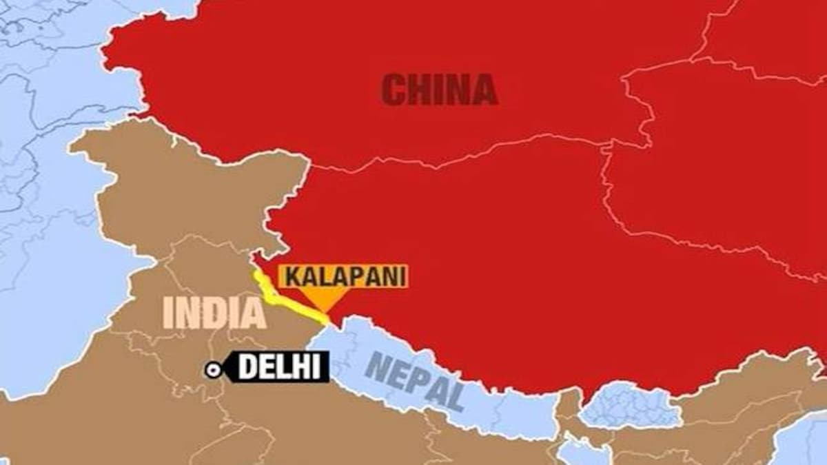 भारत के नक्शे से नाखुश नेपाल, कालापानी पर जताया अपना अधिकार