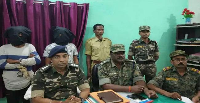 झारखंड: गुमला से पीएलएफआई (PLFI) के दो नक्सली गिरफ्तार