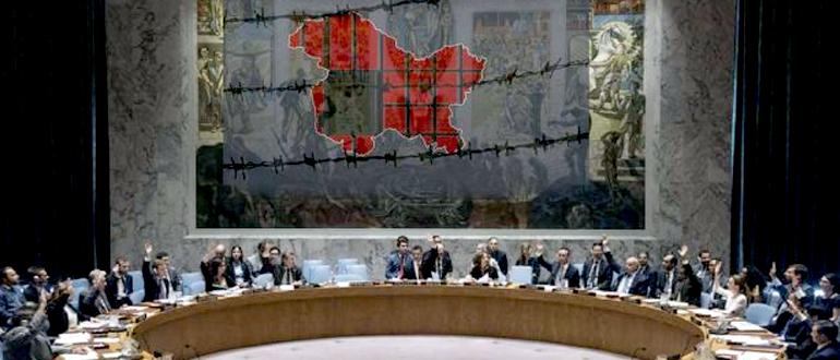पाक-चीन के कश्मीर राग पर संयुक्त राष्ट्र की दो टूक, 'कश्मीर पर नहीं होगी चर्चा'