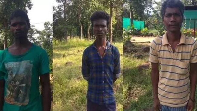 छत्तीसगढ़: सर्चिंग के दौरान BSF के जवानों ने तीन नक्सलियों को गिरफ्तार किया