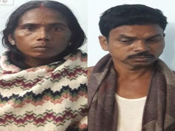 बिहार: जमुई जिला पुलिस (Police) ने महिला समेत दो नक्सलियों को दबोचा