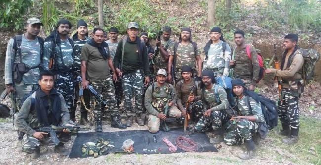 ओडिशा: CRPF के जवानों ने नक्सलियों के नापाक मंसूबे पर फेरा पानी, विस्फोटक बरामद