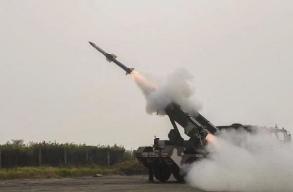 DRDO ने सतह से हवा में मार करने वाले क्विक रिएक्शन मिसाइल सिस्टम का किया परीक्षण
