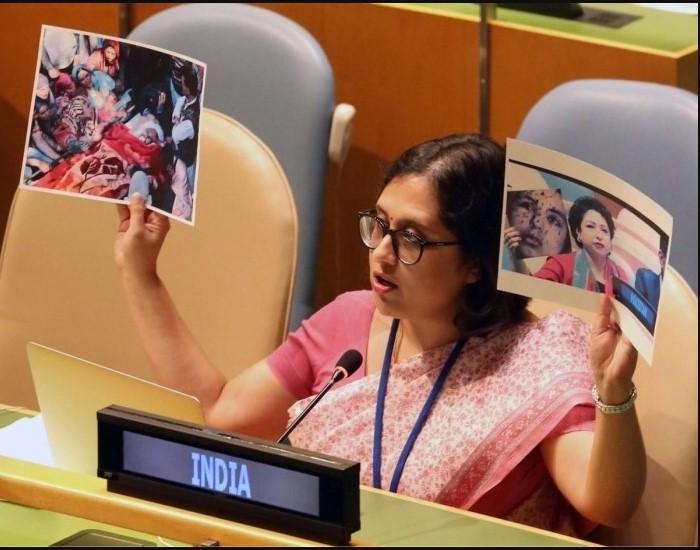 यूएन में जम्मू-कश्मीर का राग अलापने पर भारत ने पाकिस्तान को फिर धोया