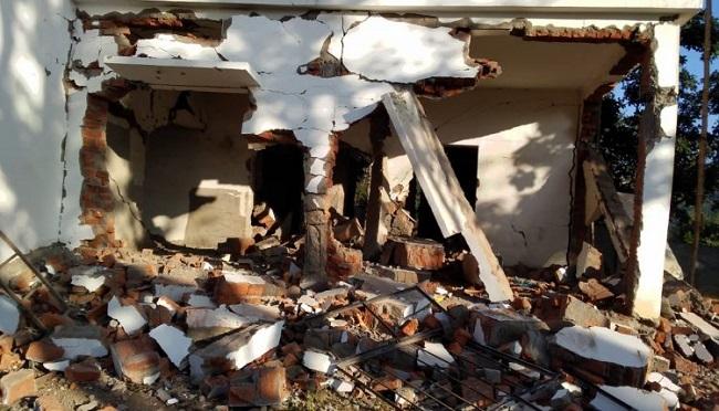 झारखंड: खूंटी में नक्सलियों ने उड़ाया निर्माणाधीन अस्पताल