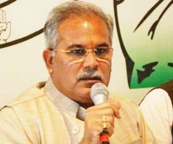 नक्सली घटनाओं में आई 50 फीसद की कमी- मुख्यमंत्री भूपेश बघेल
