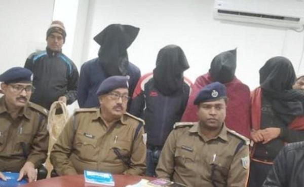 झारखंड: पलामू में JJMP के चार नक्सली पुलिस के हत्थे चढ़े, देशी कट्टा बरामद