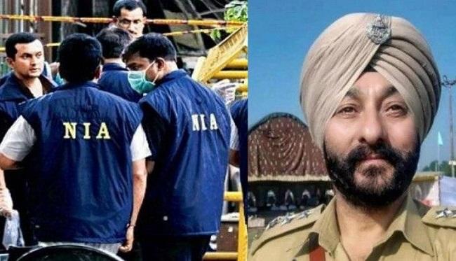 दविंदर सिंह को पूछताछ के लिए जम्मू लाई NIA, साथ पकड़े गए आतंकी का रिश्तेदार गिरफ्तार